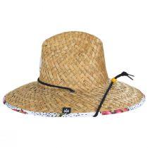Pink Dragon Straw Lifeguard Hat alternate view 3