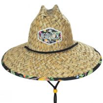 Dundee Straw Lifeguard Hat alternate view 2