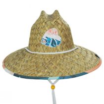 Hi Tide Straw Lifeguard Hat alternate view 2
