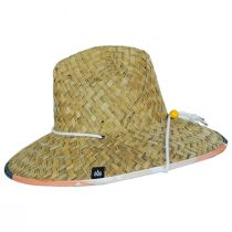 Hi Tide Straw Lifeguard Hat alternate view 3