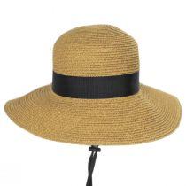 Detachable Chinstrap Toyo Straw Sun Hat alternate view 2