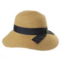 Detachable Chinstrap Toyo Straw Sun Hat alternate view 3