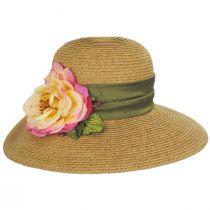 Rose Toyo Straw Sun Hat alternate view 2