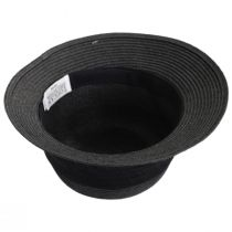 Poppy Toyo Straw Cloche Hat alternate view 4