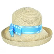 Side Bow Toyo Straw Roller Hat alternate view 2