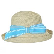 Side Bow Toyo Straw Roller Hat alternate view 3