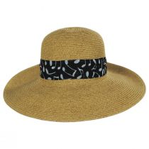 Musical Note Toyo Straw Sun Hat alternate view 2