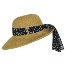 Musical Note Toyo Straw Sun Hat alternate view 3