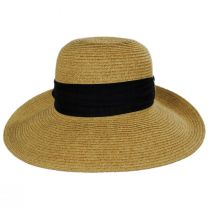 Chiffon Scarf Toyo Straw Sun Hat alternate view 2