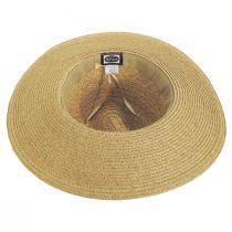 Florentino Toyo Straw Blend Safari Fedora Hat alternate view 4