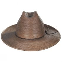 Vasquez Mexican Palm Straw Cowboy Hat alternate view 2