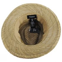 Messer Rush Straw Blend Fedora Hat alternate view 4
