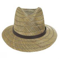 Messer Rush Straw Blend Fedora Hat alternate view 6