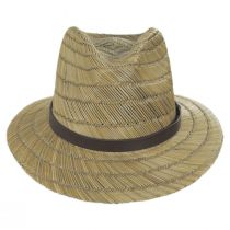 Messer Rush Straw Blend Fedora Hat alternate view 10