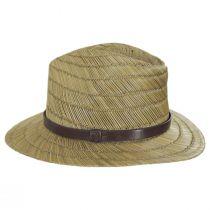 Messer Rush Straw Blend Fedora Hat alternate view 11