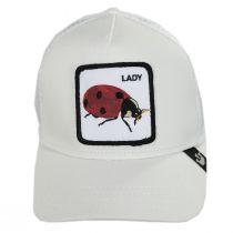 Ladybug Trucker Snapback Baseball Cap alternate view 2