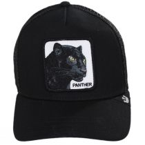 Black Panther Trucker Snapback Baseball Cap alternate view 2