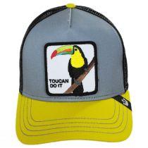 Toucan Trucker Snapback Baseball Cap alternate view 2