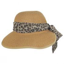 Tigerfish Toyo Straw Facesaver Hat alternate view 4