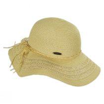 Vent Brim Toyo Straw Swinger Sun Hat alternate view 11