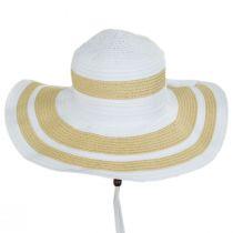 Ribbon and Toyo Straw Swinger Sun Hat alternate view 6