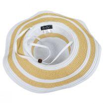 Ribbon and Toyo Straw Swinger Sun Hat alternate view 8