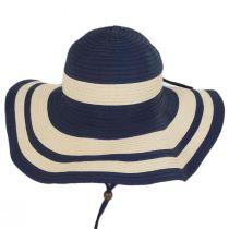 Ribbon and Toyo Straw Swinger Sun Hat alternate view 2
