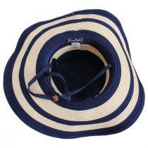 Ribbon and Toyo Straw Swinger Sun Hat alternate view 4