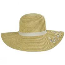 Beach Please Toyo Straw Swinger Sun Hat alternate view 2