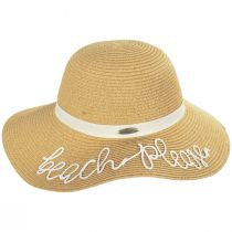 Beach Please Toyo Straw Swinger Sun Hat alternate view 11