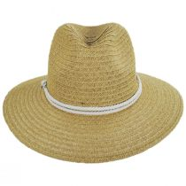 Costa Nova Toyo Straw Safari Fedora Hat alternate view 2