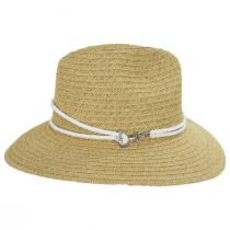 Costa Nova Toyo Straw Safari Fedora Hat alternate view 3