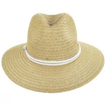 Costa Nova Toyo Straw Safari Fedora Hat alternate view 10