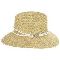 Costa Nova Toyo Straw Safari Fedora Hat alternate view 11