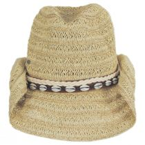 Barese Toyo Straw Western Hat alternate view 2