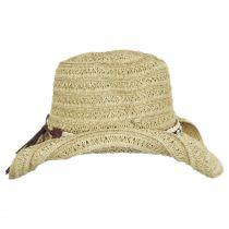 Barese Toyo Straw Western Hat alternate view 3