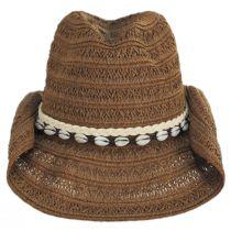 Barese Toyo Straw Western Hat alternate view 6