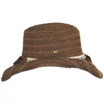 Barese Toyo Straw Western Hat alternate view 7