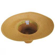 Bryah Toyo Straw Wide Brim Safari Fedora Hat alternate view 8