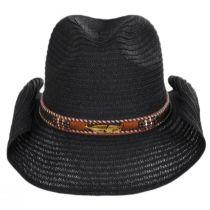 Alessi Toyo Straw Western Hat alternate view 2