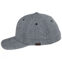 FlexFit Texture Check Plaid Fitted Baseball Cap alternate view 3