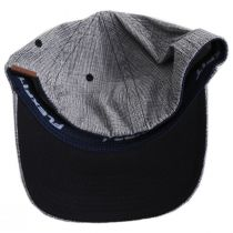 FlexFit Texture Check Plaid Fitted Baseball Cap alternate view 4