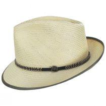 Hopper Shantung Straw Fedora Hat alternate view 3