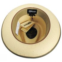 Hopper Shantung Straw Fedora Hat alternate view 4