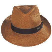 Cassatt Reversible Band Grade 8 Panama Straw Fedora Hat alternate view 2