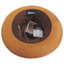 Cassatt Reversible Band Grade 8 Panama Straw Fedora Hat alternate view 6
