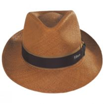 Cassatt Reversible Band Grade 8 Panama Straw Fedora Hat alternate view 2
