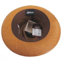 Cassatt Reversible Band Grade 8 Panama Straw Fedora Hat alternate view 6