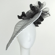 Miranda Sinamay Fascinator Hat alternate view 2