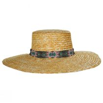 Bossa Milan Straw Boater Hat alternate view 2